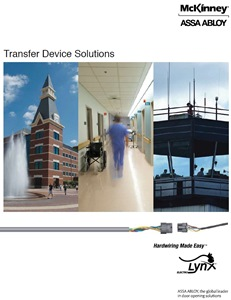 McKinney ElectroLynx Transfer Device Solutions Catalog