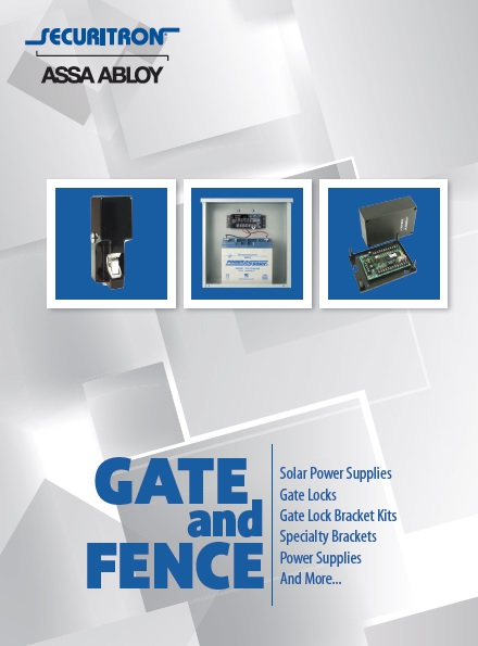 Securitron Gate and Fence Brochure