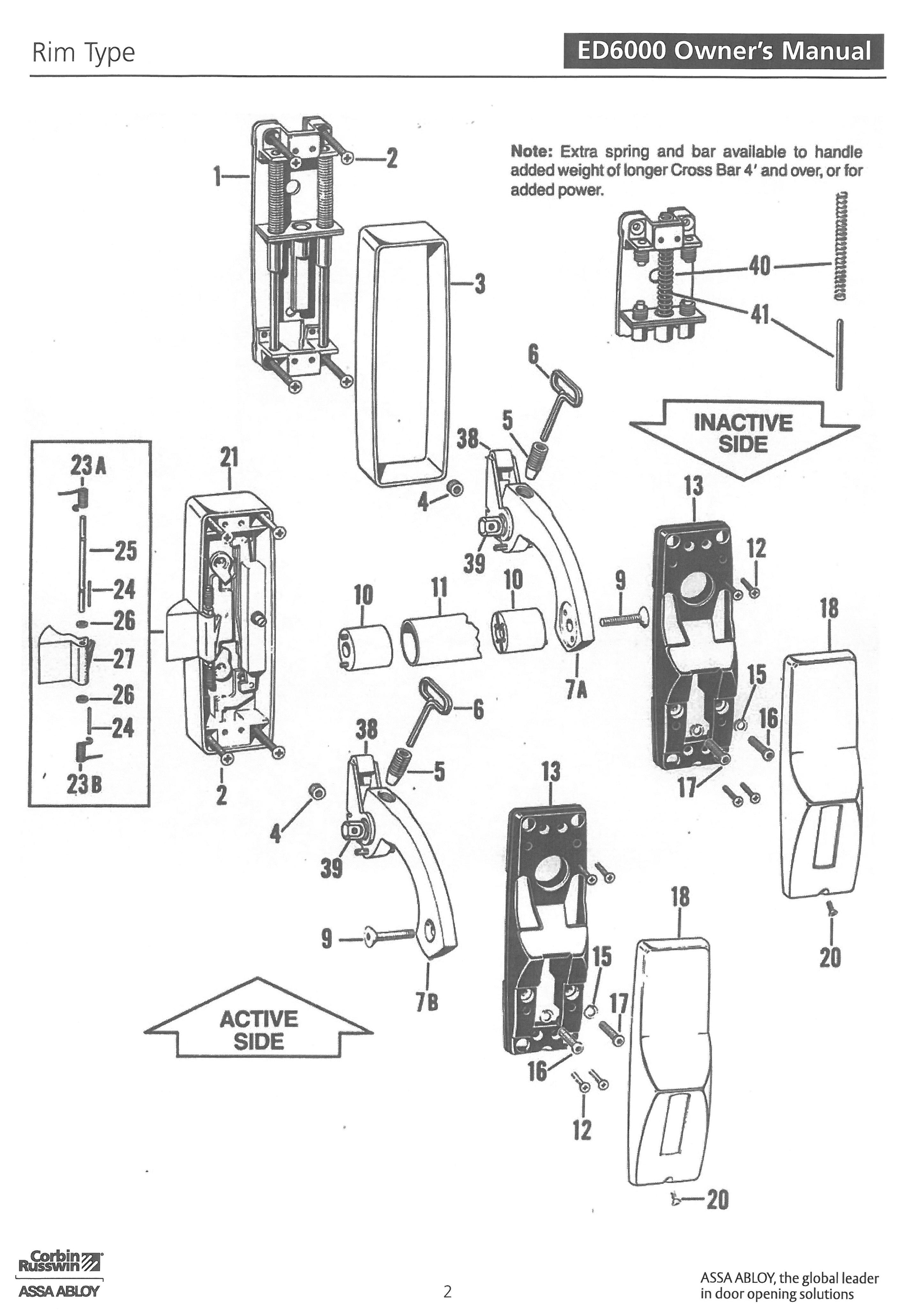 Mortise Lock Parts Wiring Diagram And Fuse Box
