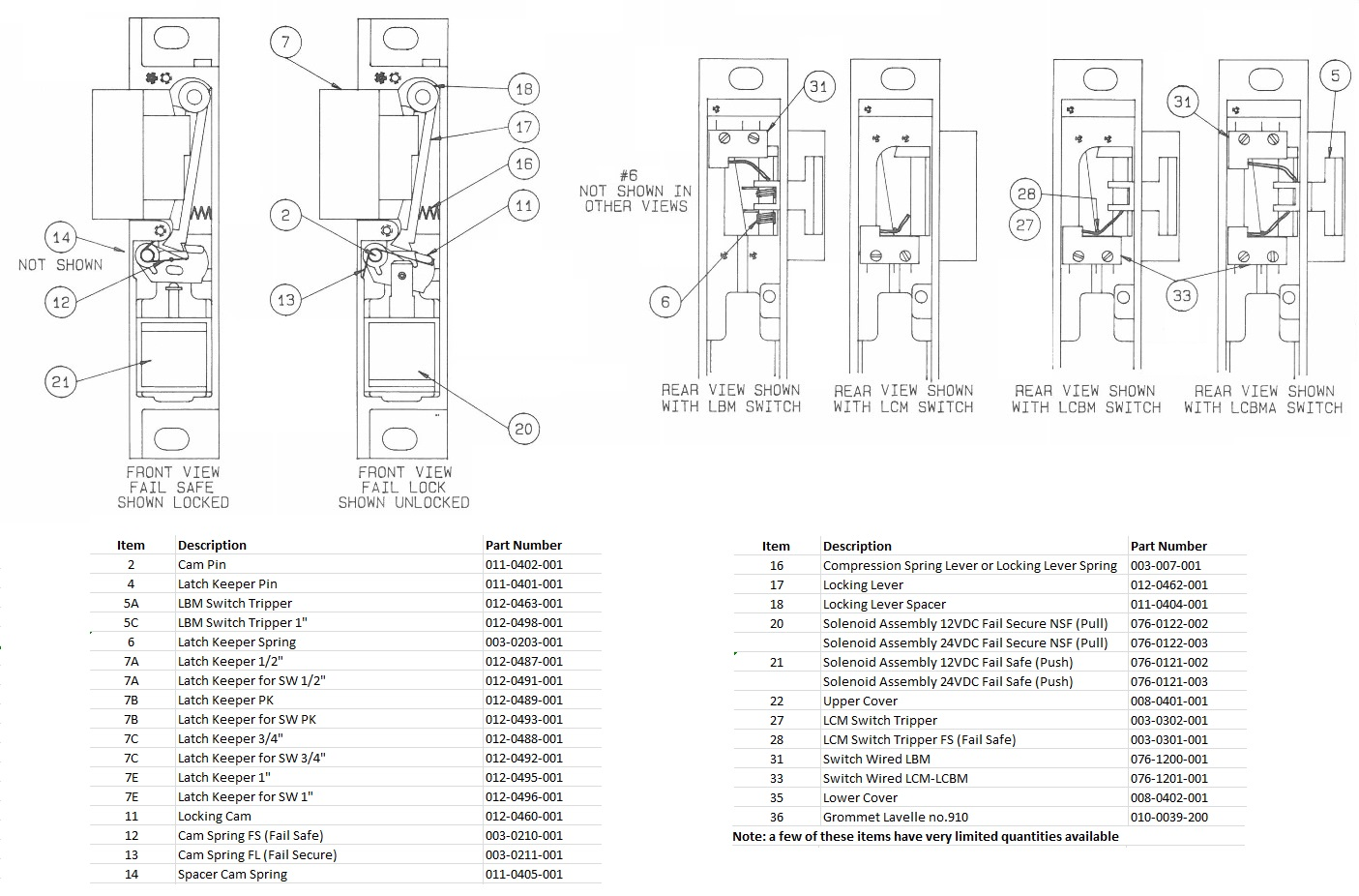Folger Adam 300 Parts Diagram available