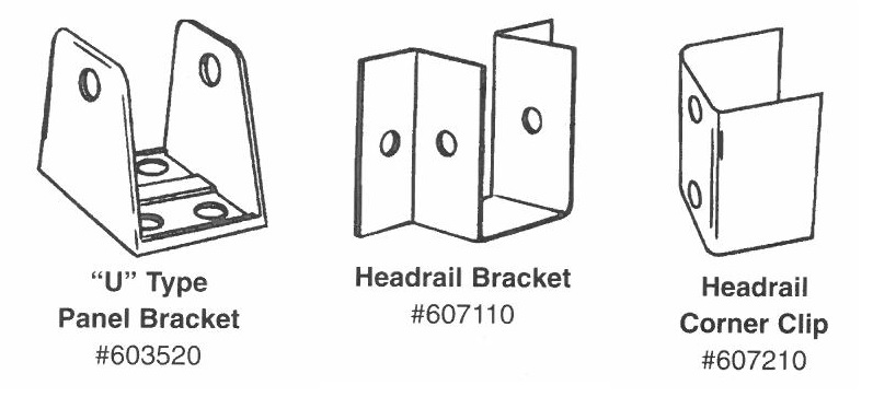 Hadrian Standard Brackets Diagram