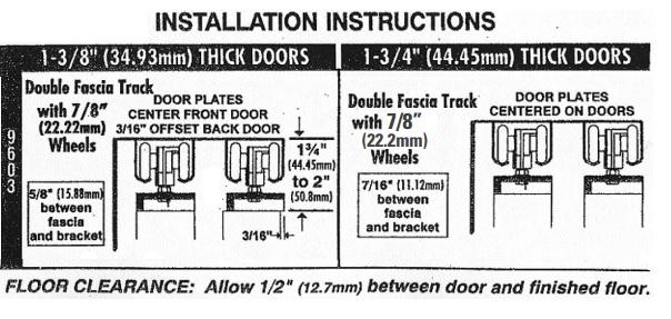 Hager 9673 Installation Diagram