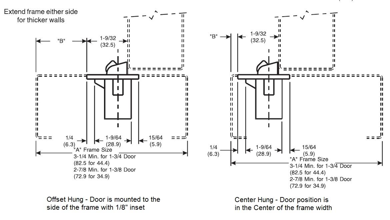 McKinney DS-6 Emergency Door Stop Release