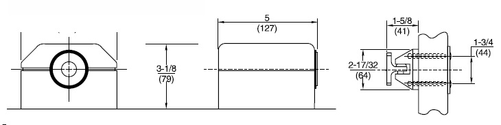 Rixson 980 Magnetic Release Dimensions