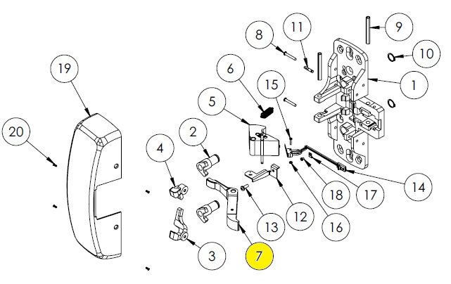 Sargent Parts Diagram 8800 Chassis