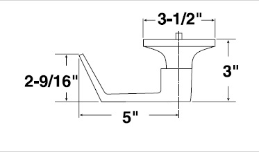 Yale 540F AU Dimensions yale classroom function exit trim au 546f yale 7000 series wiring diagram at edmiracle.co
