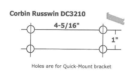 Corbin Russwin Dc3000 Series Door Closers