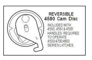 Adams Rite Deadlatch Lever Handle 4560 Rc130 Aluminum