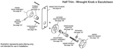 Sample_Half_Trim_Layout - Corbin-Russwin ML2000 Series