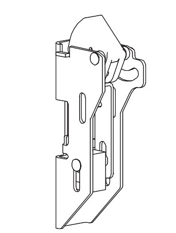 Von Duprin 98/9927 Vertical Rod Exit Device Parts