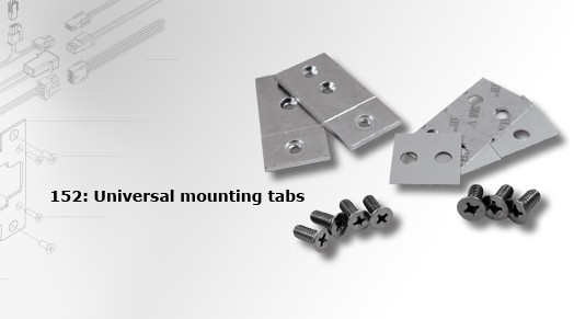 HES Universal Mounting Tabs 152