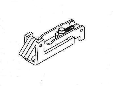 15) Corbin Russwin ED8400 Bottom Latch Assembly - 436F29