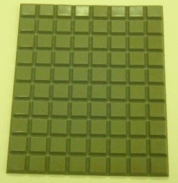 3M Adhesive Applied Silencers (Grey)