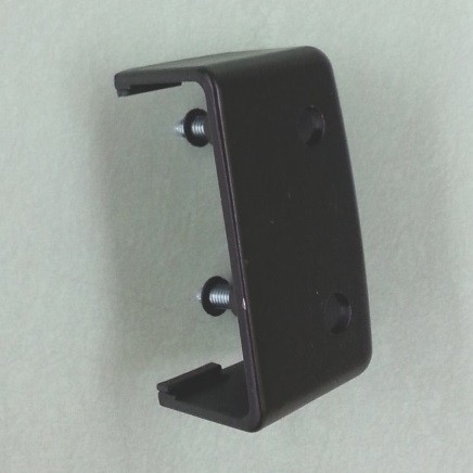 Adams Rite 41-0903 Metal End Cap - For Hinge Stile 3000 and 8000 Devices