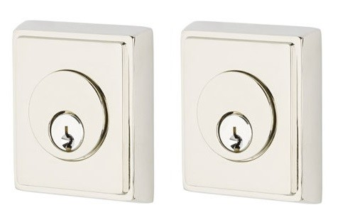Emtek Rectangular Double Dead Bolt US14