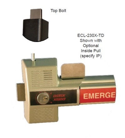 Detex ECL-230X-TD Two Point Locking Emergency Exit Alarm