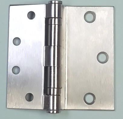 Hager BB1173 US26D Half Surface Hinge