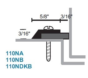 National Guard Products 110NA Neoprene Weatherstrip