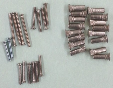 Sargent 28-2087 Thrubolts for 12-3727 Exit Device