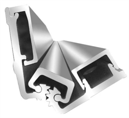 """ABH Continuous Full Surface Hinge, A570HD-83"""" x Aluminum"""