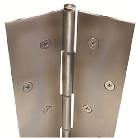 """ABH Pin and Barrel Full Mortise Hinge, A500-83-1/8"""" x US32D"""