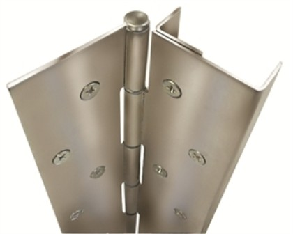 """ABH Pin and Barrel Hinge with Edge Guard A505-83-1/8"""" x US32D"""