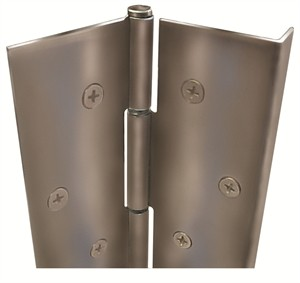 """ABH Pin and Barrel Hinge with Edge Guard A515-83-1/8"""" x US32D"""