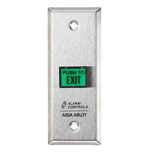 Alarm Controls Request to Exit Button TS-9