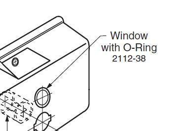 Bobrick 2112-38 Window with O Ring