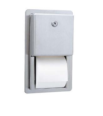 Bobrick B-3888 Recessed Toilet Paper Dispenser