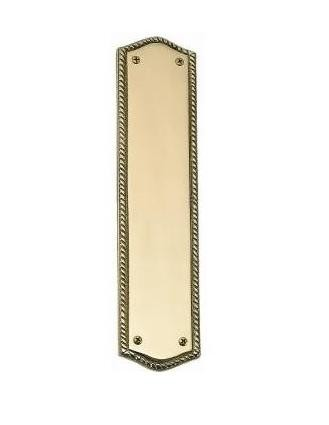 Brass Accents A06-P0250 Trafalgar Push Plate