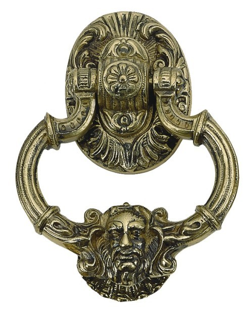 Brass Accents A04-K5060 - Neptune Knocker - 7-3/8 in