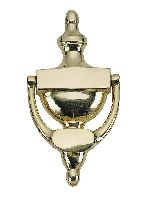 Brass Accents A07-K5520 Traditional 8 in. Door Knocker