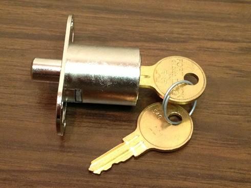 CompX Sliding Wood Door Lock, SD990