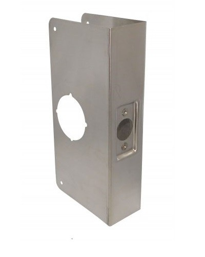 Don-Jo Wrap-Around Plate 214C-CW Stainless Steel