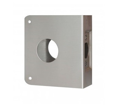 Don-Jo Wrap-Around Plate 5-CW Stainless Steel