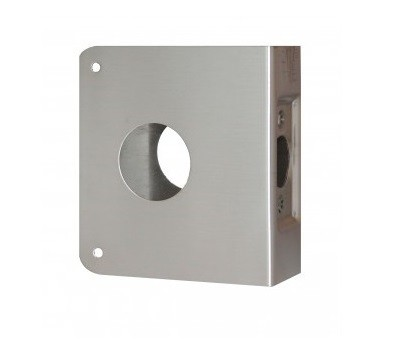 Don-Jo Wrap-Around Plate 6-CW Stainless Steel