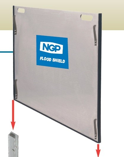 National Guard Products Door Flood Shield