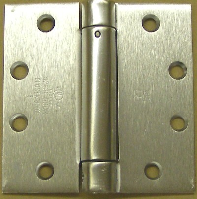 Hager 1250 4 1/2 x 4 1/2 Spring Hinge