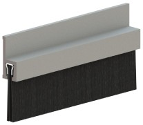 Hager 801S Nylon Brush Sill Sweep