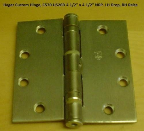 Hager Non Catalog C570 Full Mortise - Ball Bearing Hinges