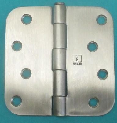 Hager RC1542  Plain Bearing Hinge x 5/8in Radius