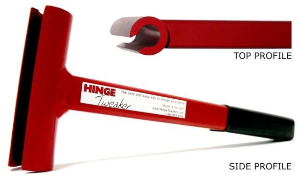 Hinge Tweaker - RED Standard Weight Hinges