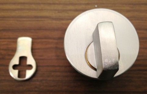 Ilco Thumbturn Mortise Cylinder 7161TK2