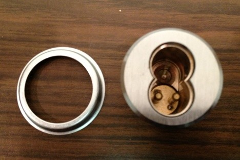 PDQ SFIC 6 Pin Mortise Cylinder I5306 - US26D