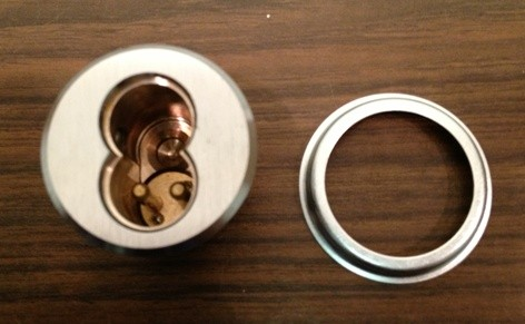 PDQ SFIC 7 Pin Mortise Cylinder I5307 - US26D