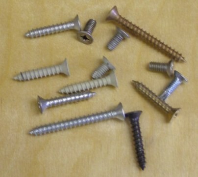 Replacement Wood Screws #12 x 1 1/4 inch FPHW