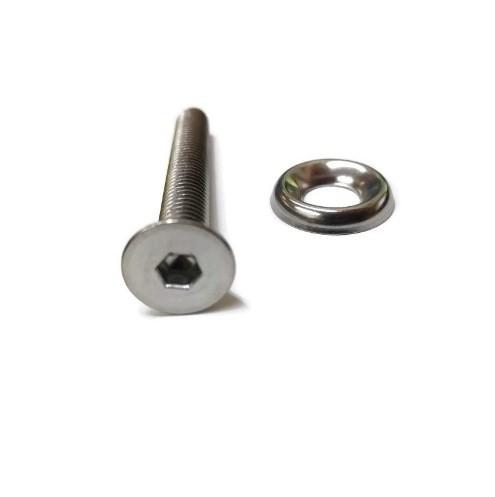 Rockwood Socket Flat Head Machine Screw 5/16-18 x 2-1/2 Inch
