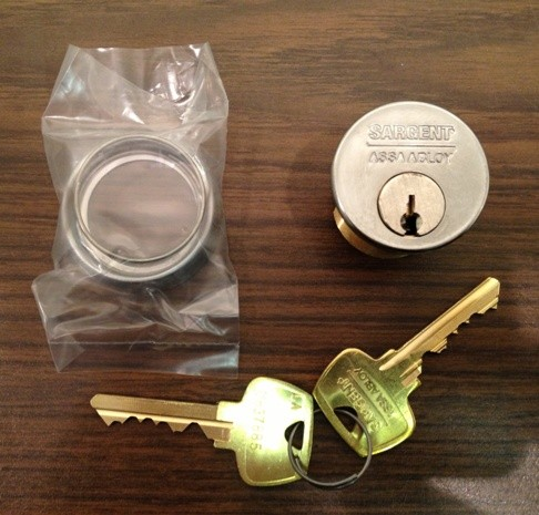 Sargent 41 Mortise Cylinder x LA Keyway
