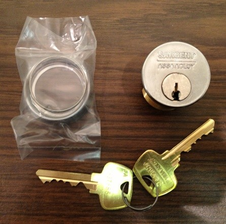 Sargent 42 Mortise Cylinder x LA Keyway